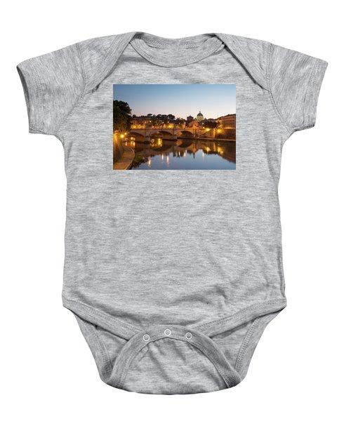 View Of Rome Baby Onesie