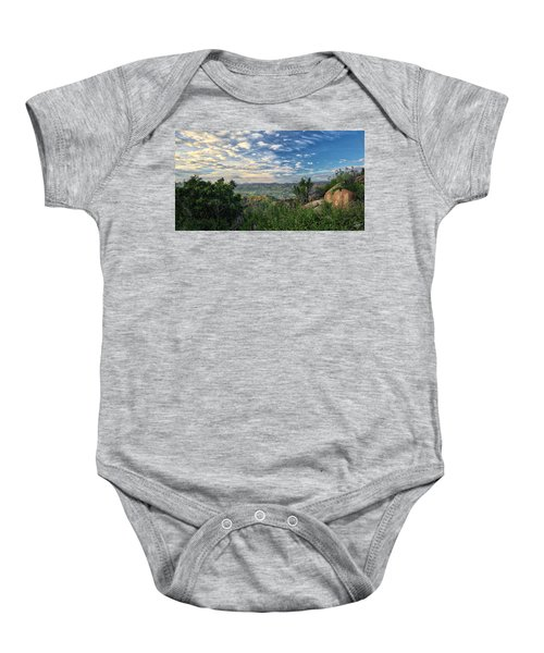 View Of Simi Valley Baby Onesie