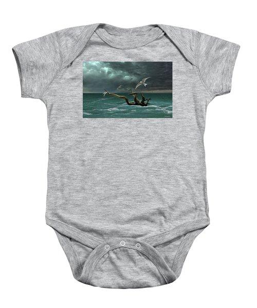 Vigil At Sea Baby Onesie