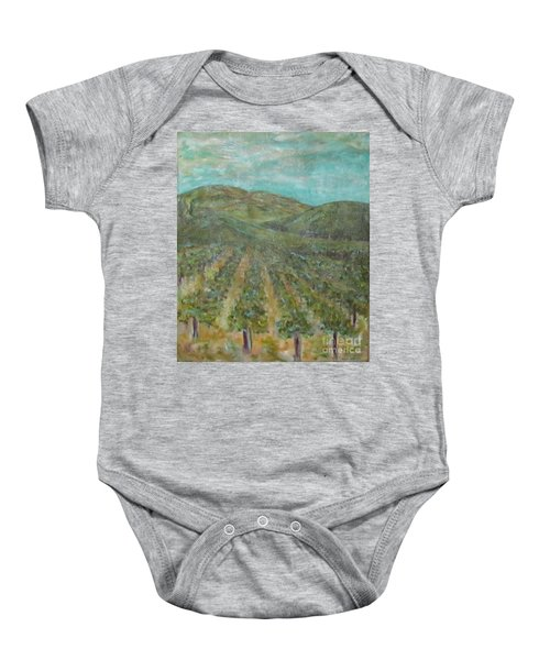 Vineyard #2 Baby Onesie