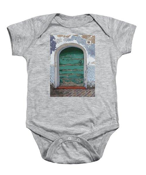 Vintage Series #2 Door Baby Onesie