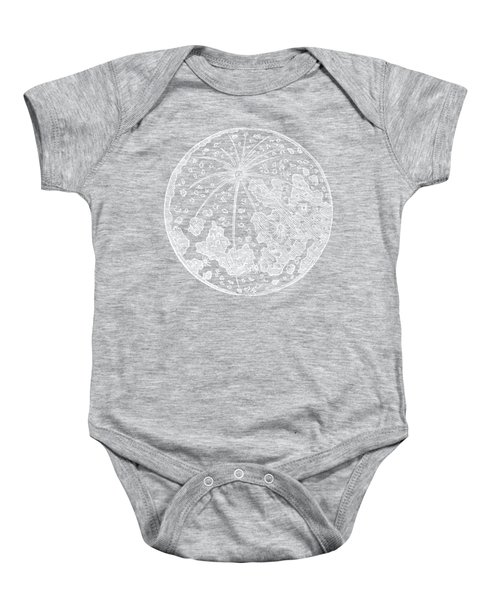 Vintage Planet Tee Blue Baby Onesie by Edward Fielding