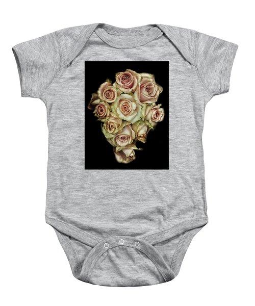 Vintage Rose Baby Onesie