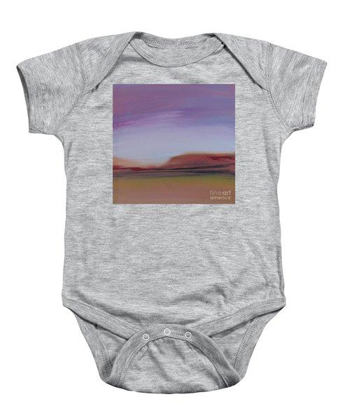 Violet Skies Baby Onesie