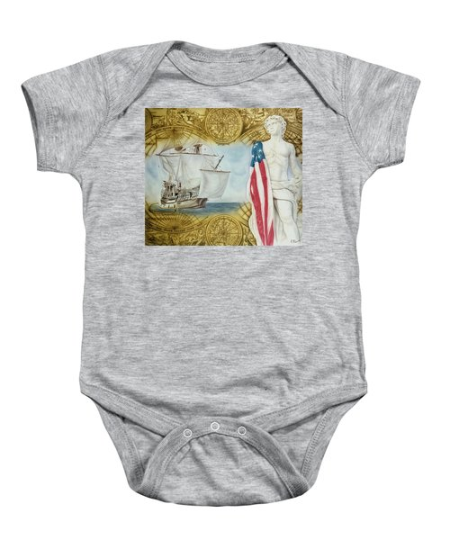 Visions Of Discovery Baby Onesie