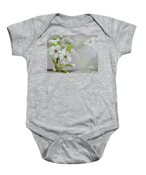 Visions Of White Baby Onesie