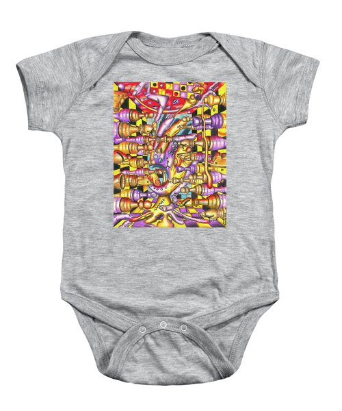 Visual Obstruction Of Probability Baby Onesie