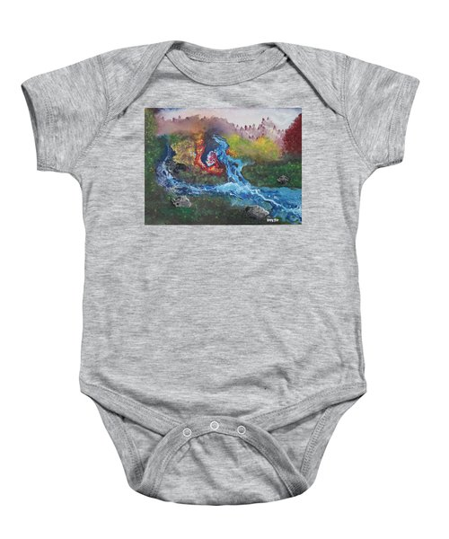 Volcano Delta Baby Onesie