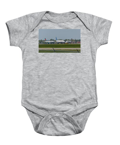 Vying For Position Baby Onesie