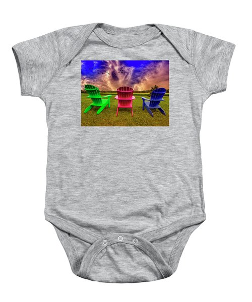 Calm Before The Storm Baby Onesie