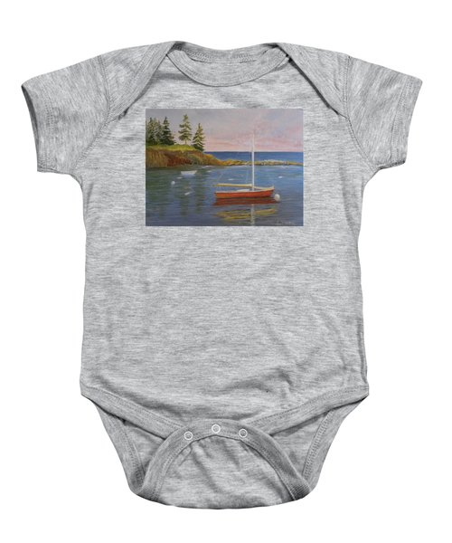 Waiting For The Wind Baby Onesie