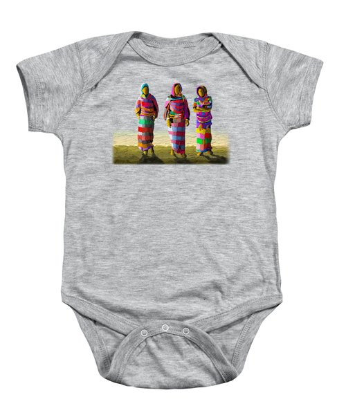 Walk The Talk Baby Onesie