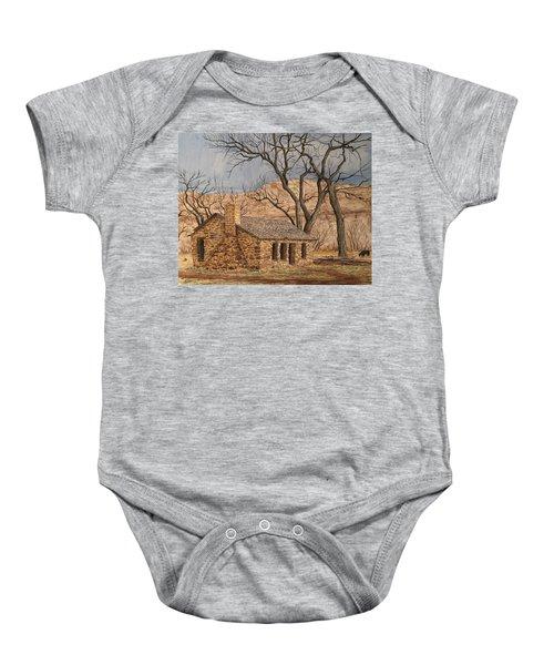 Walker Homestead In Escalante Canyon Baby Onesie