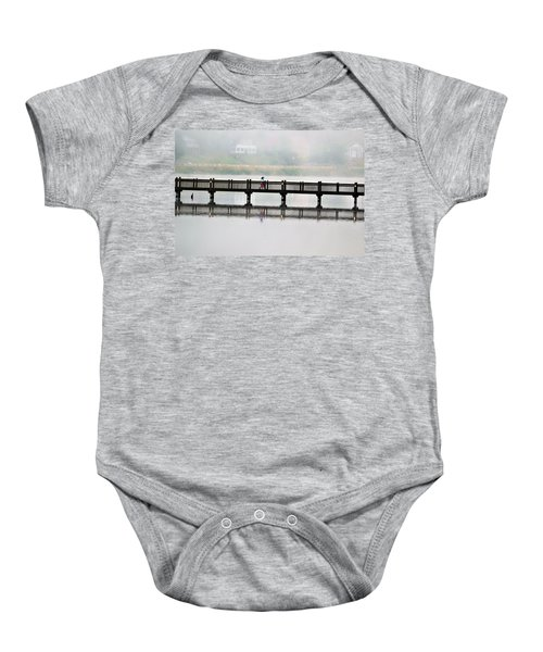 Walking Bridge Baby Onesie