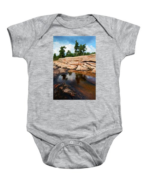 Wall Island Colours Baby Onesie