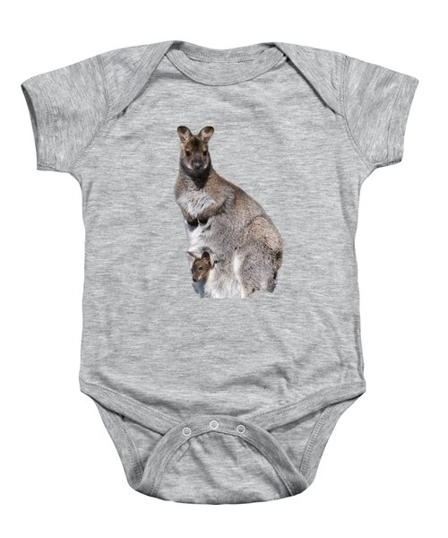 Wallaby Baby Onesie by Scott Carruthers