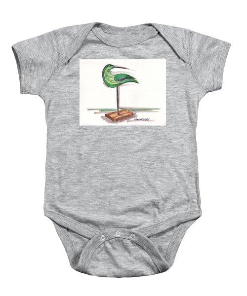 Water Fowl Motif #3 Baby Onesie