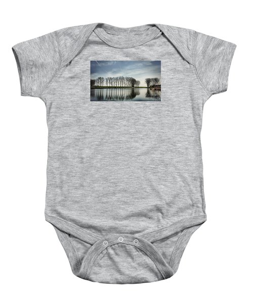 Water Reflection Baby Onesie