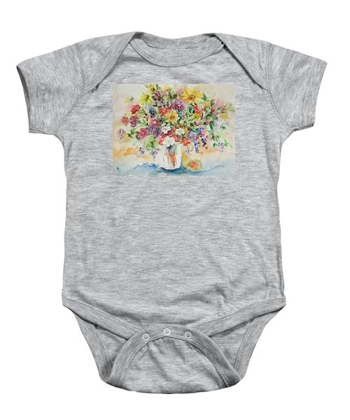 Watercolor Series 33 Baby Onesie