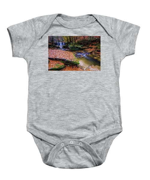 Waterfall-3 Baby Onesie