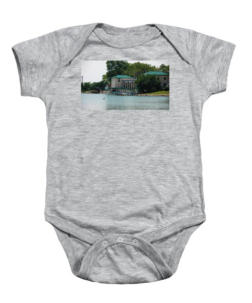 Waterfront Baby Onesie by Jose Rojas
