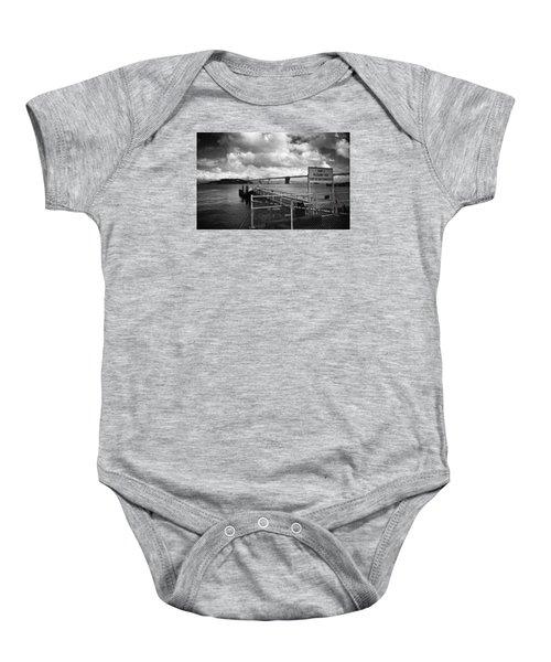 Waterfront San Francisco Baby Onesie
