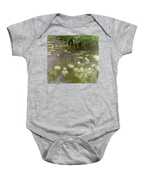 Waterlilies At Midday Baby Onesie