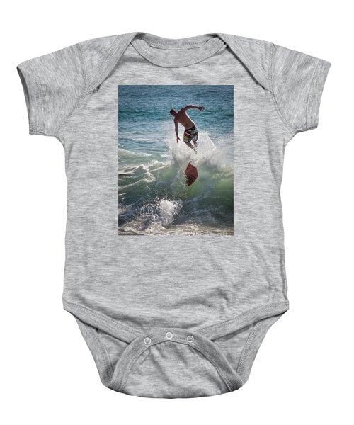 Wave Skimmer Baby Onesie