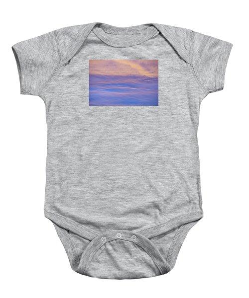 Waves Of Color Baby Onesie