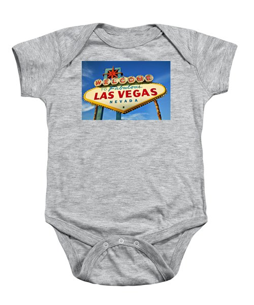 Welcome To Las Vegas Sign Baby Onesie