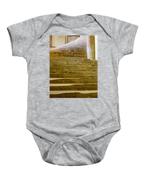 Wells Cathedral Steps Baby Onesie