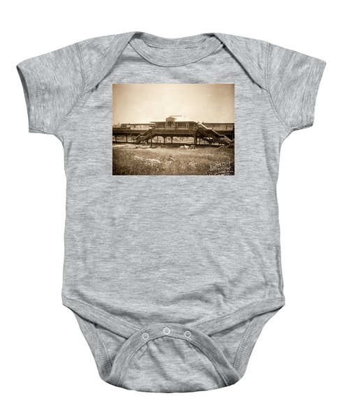 West 207th Street, 1906 Baby Onesie by Cole Thompson