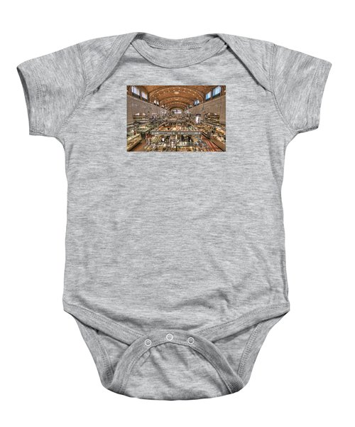 West Side Market Baby Onesie