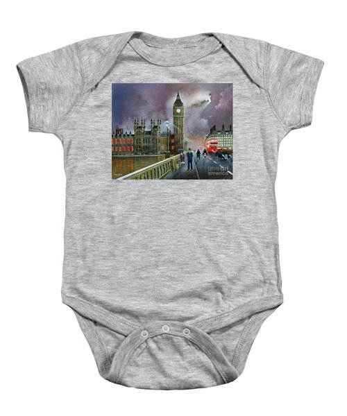 Westminster Bridge Baby Onesie