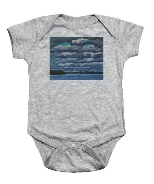 Westport Stratocumulus Virga Baby Onesie
