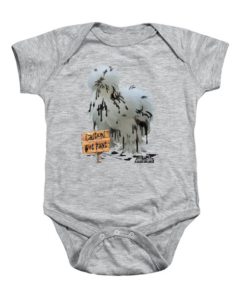 Wet Paint Baby Onesie by Gilda Goodwin