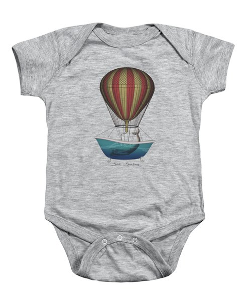 Seek Sanctuary Baby Onesie by Galen Valle