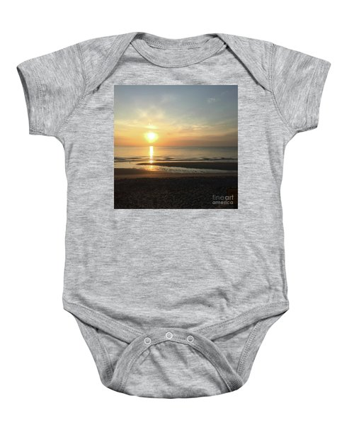 What A View Sunrise Baby Onesie