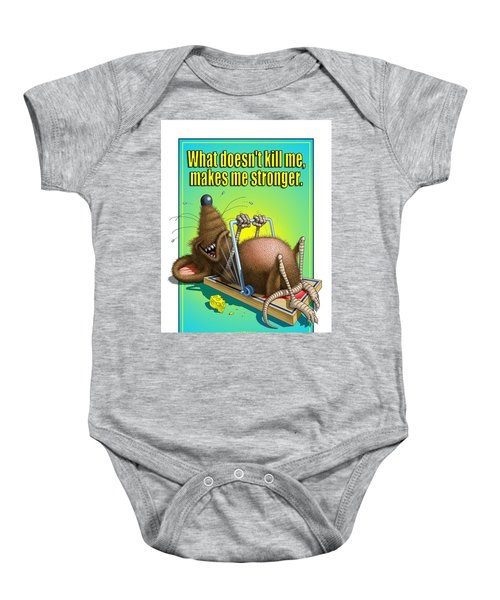 What Doesn't Kill Me... Baby Onesie