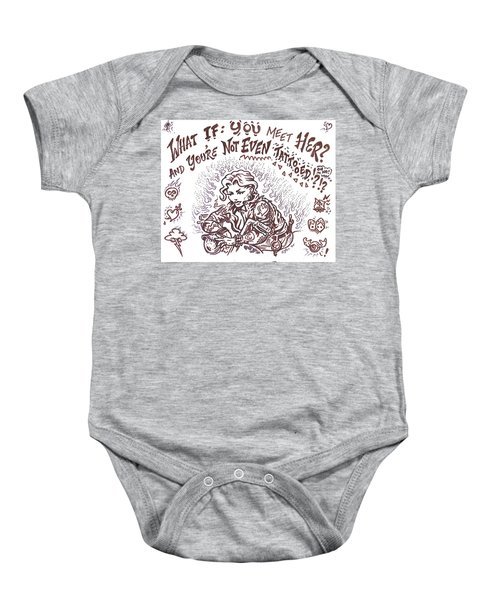 What If  Baby Onesie