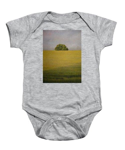 Wheat Field Baby Onesie