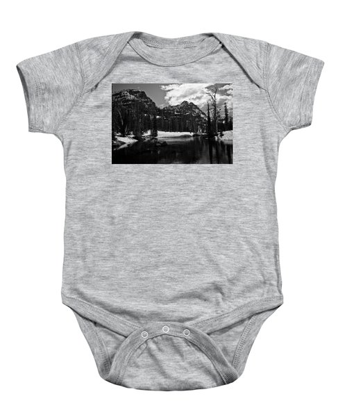 Whelp Lake, Mission Mountains Baby Onesie