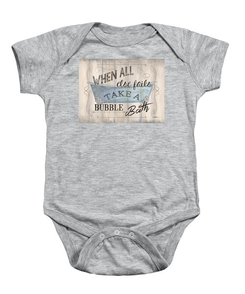 When All Else Fails Baby Onesie
