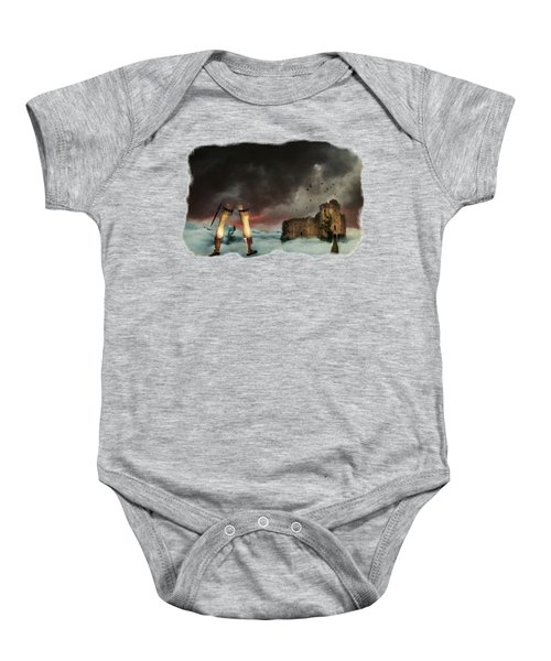 Where Giants Dwell Baby Onesie