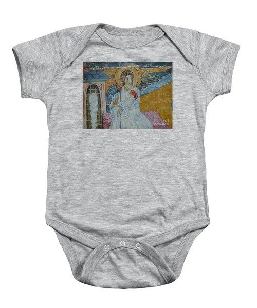 White Angel Baby Onesie