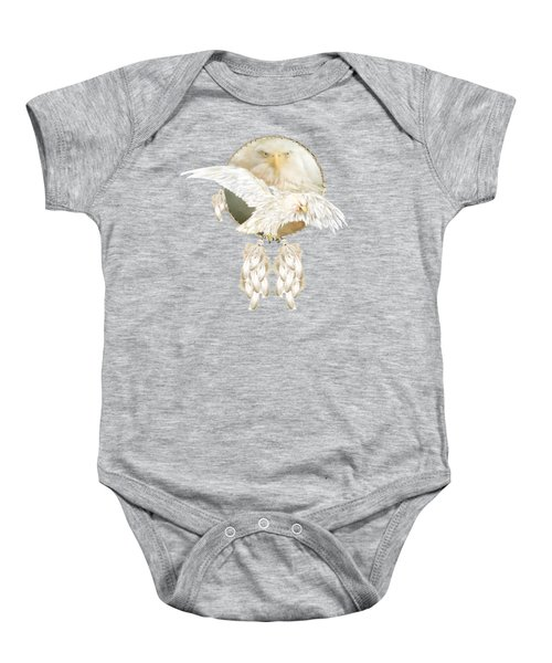 White Eagle Dreams Baby Onesie