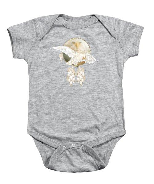 White Eagle Dreams Baby Onesie