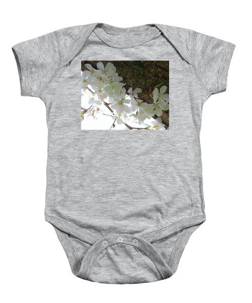 Dogwood Branch Baby Onesie