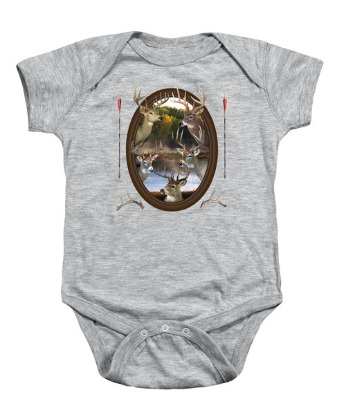 Whitetail Dreams Baby Onesie