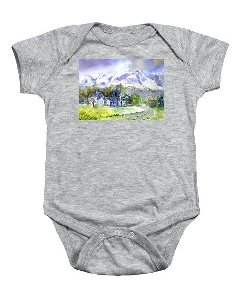 Whitney's White House Ranch Baby Onesie